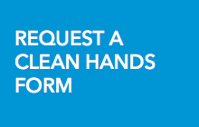 Request a clean hands form